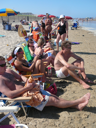 E. Our Most Crowded Beach Day