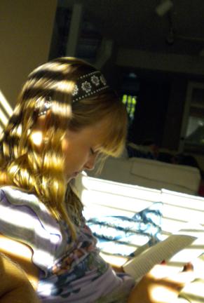 Reading in Sunlight