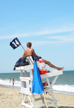 Pete the Lifeguard